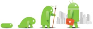 L'évolution d'Android 1
